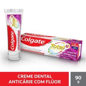 Creme Dental Colgate Total 12 - Gengiva Reforçada   90g