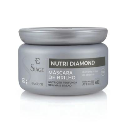 Máscara Capilar de Brilho Siàge - Nutri Diamond   250g