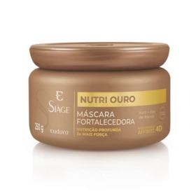Máscara Capilar Nutritiva Siàge - Nutri Ouro + Força | 250g