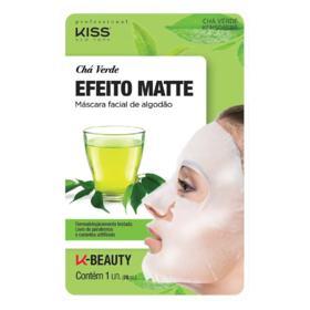 Máscara Facial Kiss NY - Chá Verde | 1 Unidade