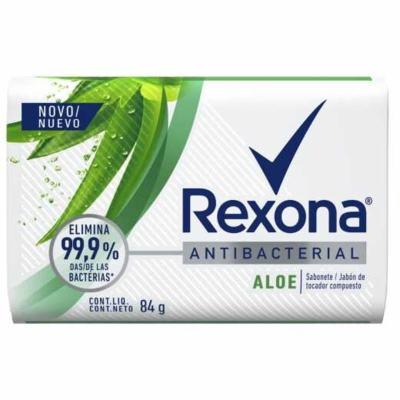 Rexona Sabonete Barra Antibacterial - Aloe Vera | 84g