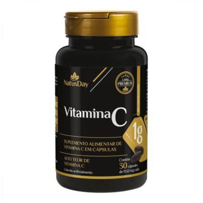 Vitamina C Natusday Premium - 1000mg | 30 cápsulas