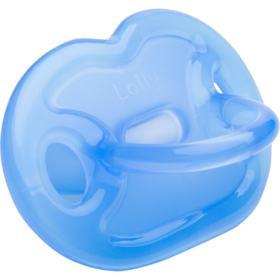 Chupeta Lolly Silicone Ortodôntica Tamanho 2 - Azul   1 Unidade