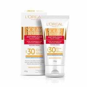 Protetor Solar Expertise Facial Antirrugas - Sem Cor FPS30 | 40g