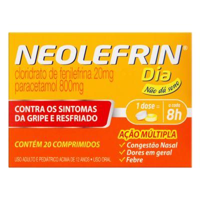 Neolefrim Dia - 800mg/20mg | 20 comprimidos