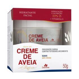Hidratante Facial Davene - Creme de Aveia Suave | 50g