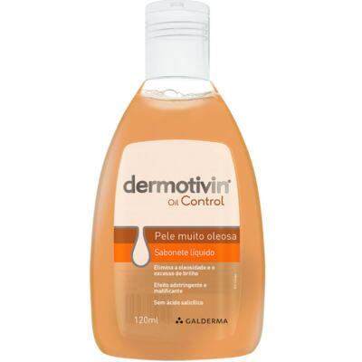 Sabonete Dermotivin Oil Control - líquido | 120mL