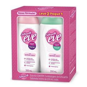 Sabonete Líquido Intimo Eve Fresh - 2 unidades | frasco com 200mL cada