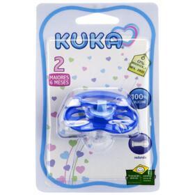 Chupeta Kuka Aquarela - N2, azul   1 unidade