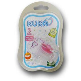 Chupeta Premium Ortodôntica Rosa Kuka - +6 Meses   1 Unidade