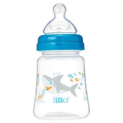 Mamadeira Lillo Smart - 3+ meses, azul, | 180mL
