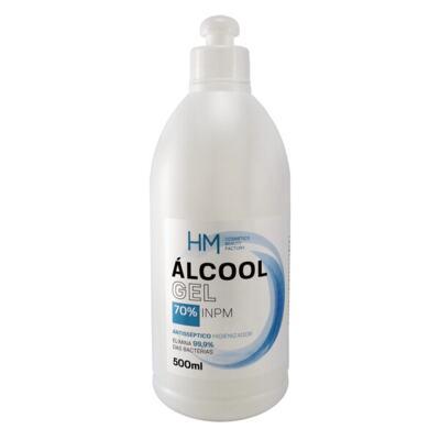 HM Álcool Antisséptico - 70% Para Mãos | 500ml