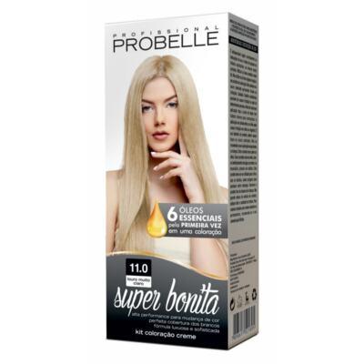 Coloração Creme Super Bonita Probelle - 11.0 Louro Muito Claro | 1 unidade