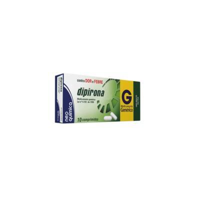 Dipirona Sódica Neo Química - 500mg   10 comprimidos