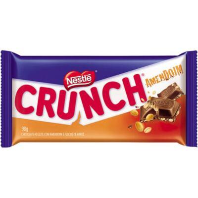 Chocolate Crunch Nestlé - Amendoim | 98g