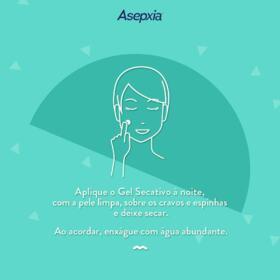 Gel Secativo Asepxia - 15g