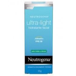 Imagem 1 do produto Hidratante Facial Neutrogena Ultra-Light Dia Pele Mista e Oleosa 55g
