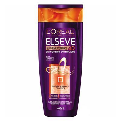 Imagem 2 do produto Kit Shampoo + Condicionador L'Oréal Paris Elseve Supreme Control 4d - Kit