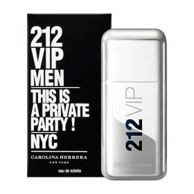 212 Vip Men By Carolina Herrera Eau De Toilette Masculino - 50 ml