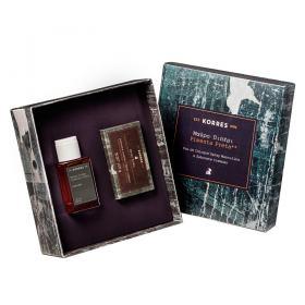 Pimenta Preta Korres - Masculino - Eau de Cologne - Perfume Masculino + Sabonete Cremoso - Kit