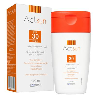 Protetor Solar em Loção Fps30 Actsun - Loção Protetora - 120ml