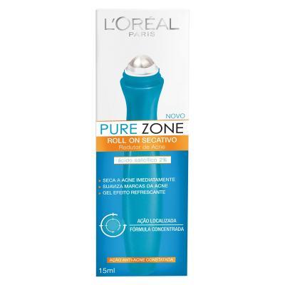 Imagem 1 do produto Gel Secativo L'Oréal Pure Zone Roll On 15ml