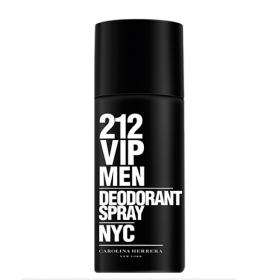 212 Vip Men Desodorante Spray Carolina Herrera - Desodorante Masculino - 150g
