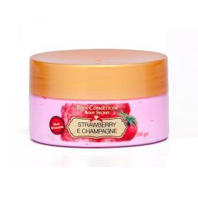Strawberry and Champagne Máscara de hidratação Corporal de Bien Cosméticos - 250 g