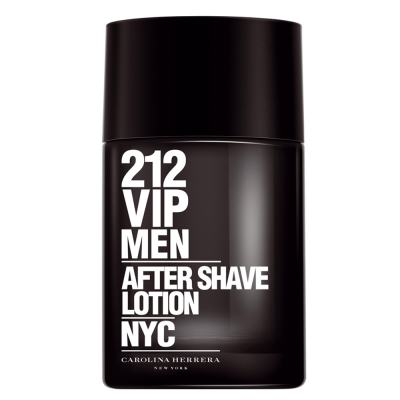 212 Vip Men After Shave Lotion Carolina Herrera - Loção Pós-Barba - 100ml