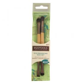 Eye Enhancing Duo Set Ecotools - Pincel para Sombra - 1 Un