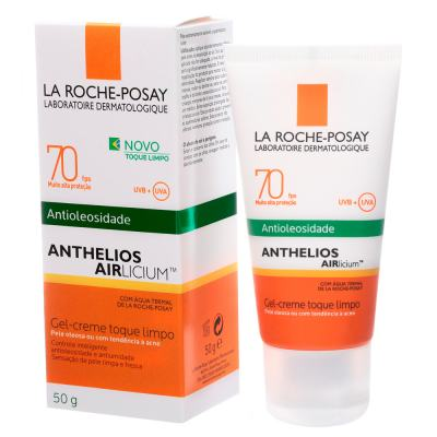 Imagem 2 do produto Anthelios Airlicium FPS 70 La Roche Posay - Protetor Solar - 50g