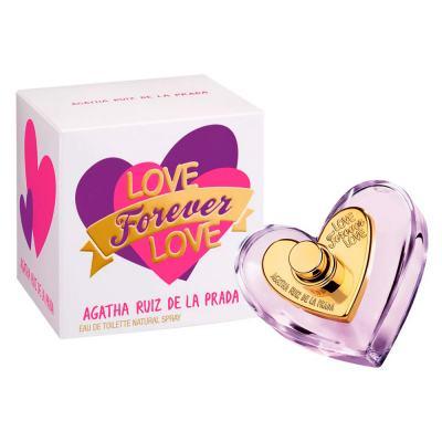 Imagem 2 do produto Love Forever Love Agatha Ruiz de La Prada - Perfume Feminino - Eau de Toilette - 50ml