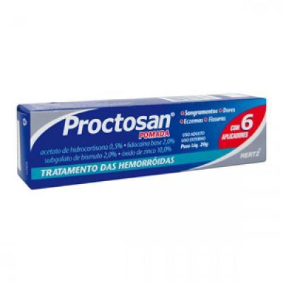 Proctosan Pomada 20G + 6 aplicadores