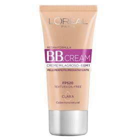 Base L'Oréal Paris - Dermo Expertise BB Cream 30ml - Claro