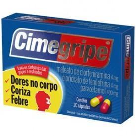 Cimegripe 20 cápsulas