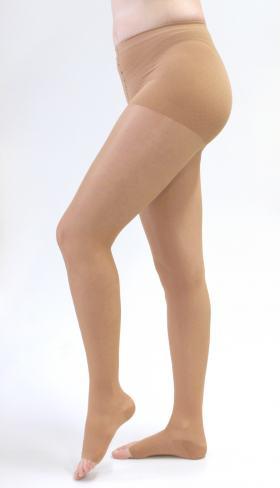 Meia Calça 20-30 mmHg Sheer & Soft Medi - NATURAL IV PONTEIRA FECHADA