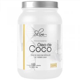 ÓLEO DE COCO 100CAPS - SLIM -