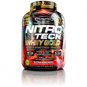Nitro Tech Whey Gold 2495g 5,5Lbs - Muscletech