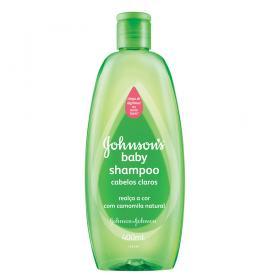 Johnson Baby Shampoo para Cabelos Claros - - 400ml