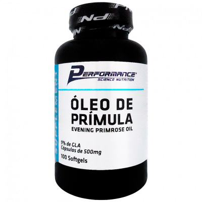 Óleo de Prímula 100 Cápsulas Performance Nutrition
