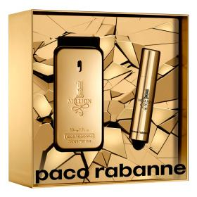 Paco Rabanne 1 Million Kit - EDT 50ml + Travel Size - Kit