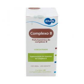 Complexo B 20 comprimidos revestidos