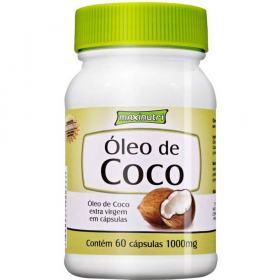 Óleo de Coco Extra Virgem 60Cps - Maxinutri - 60Cps