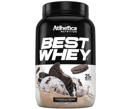 Best Whey Protein 900g - Atlhetica - Cookies And Cream