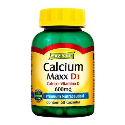Calcium Maxx D3 60cps - Maxinutri - 60Cps