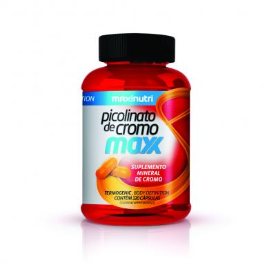 Picolinato de Cromo Maxx 120Cps - Maxinutri - 120Cps
