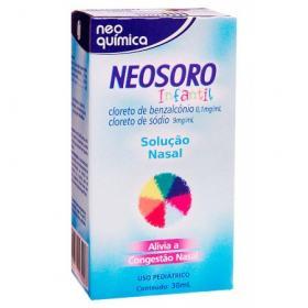 Neosoro Sol Nasal Infantil 30ml