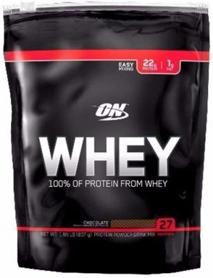 Whey Protein 100% Refil 837g - Optimum - Chocolate