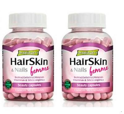 Combo 02 Hair Skin & Nails Femme 90cps – Maxinutri - Combo 02