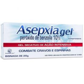 Asepxia Gel Antiacne de Ação Intensiva 20g